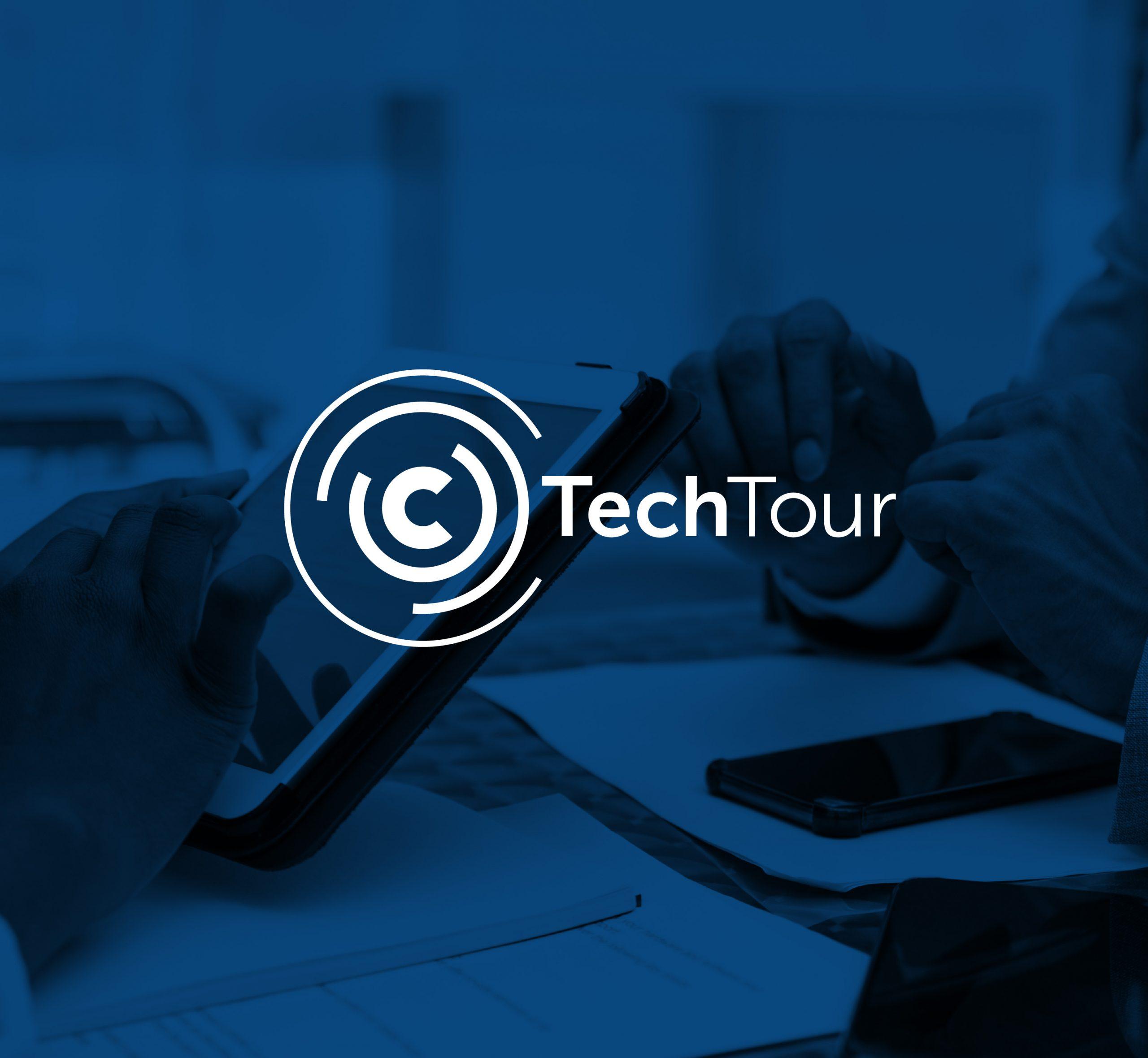 """Logo of the company """"Tech Tour"""""""